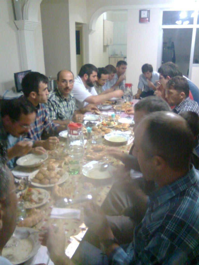 2011 İftar Yemeği
