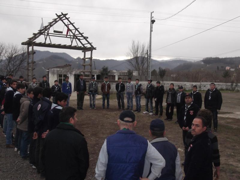 Ergin İzciler Kış Kampı - Giresun Piraziz