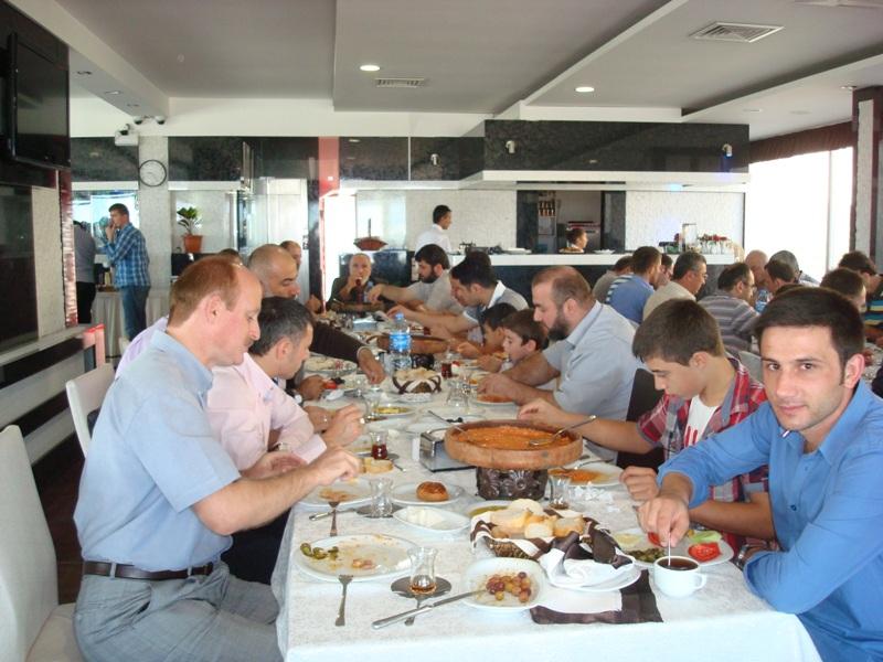 30 Ekim 2012 Ordu Aktuğ Otel Geleneksel Kahvaltı