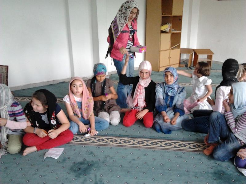 4 Temmuz 2012 Ünçek Kızlar Berat Kandili Kutlaması
