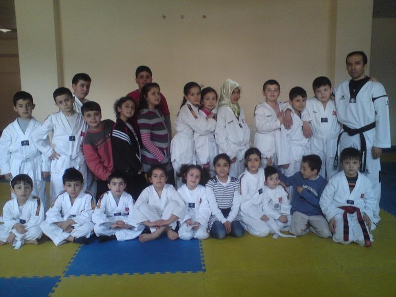 Taekwondo Antremanı - 7 Nisan 2012
