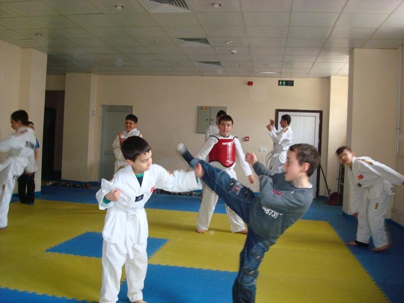 Taekwondo Antremanı - 8 Nisan 2012