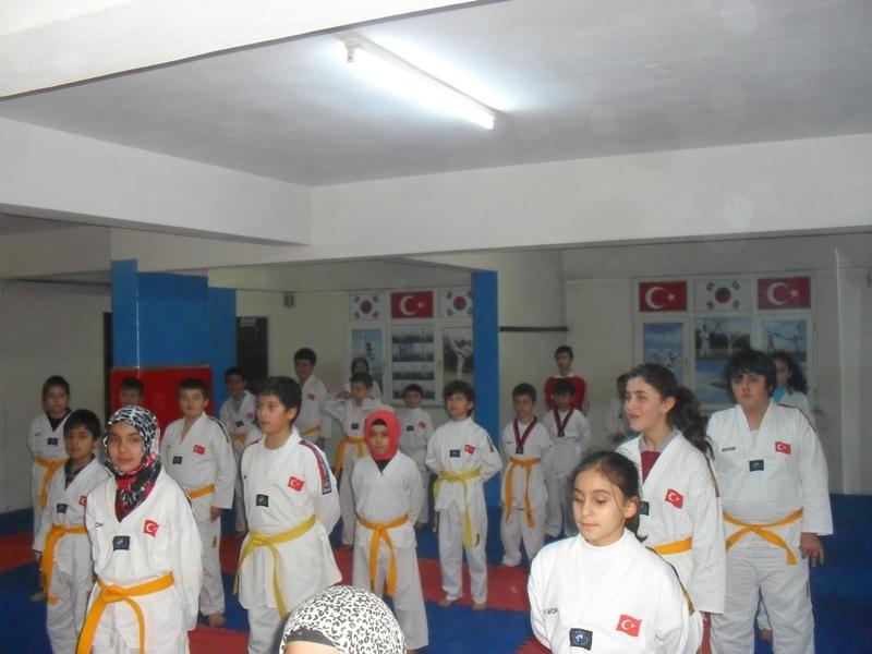 24 Ocak 2013 Taekwondo Kuşak Sınavı