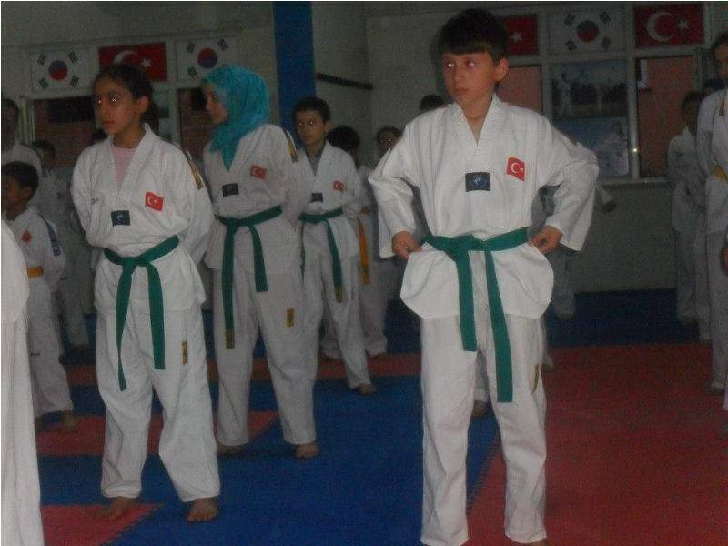 Taekwondo Kuşak Sınavı   Mayıs 2013