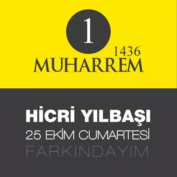Hicri Yılbaşına Sayılı Günler Kaldı. Farkında mıyız ?