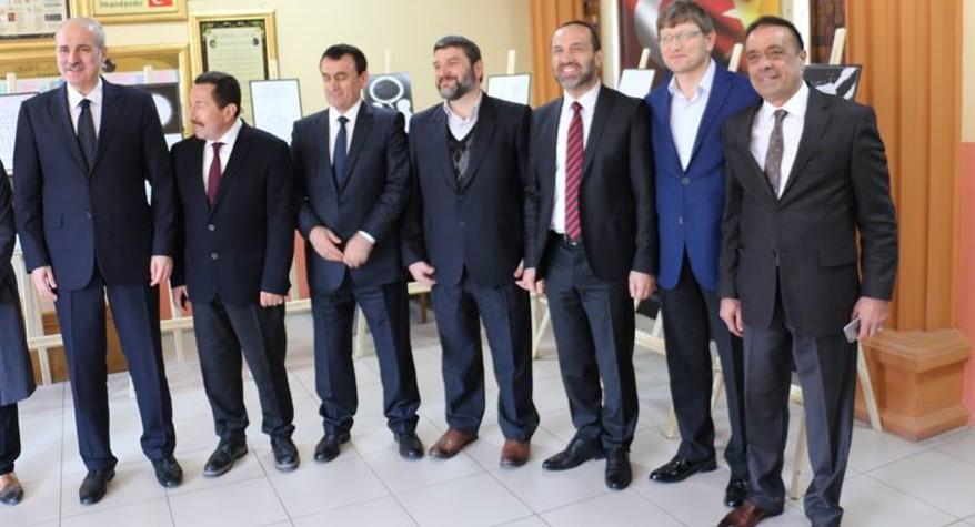 Devlet Bakanı Numan KURTULMUŞ Sergilerimizi Ziyaret Etti