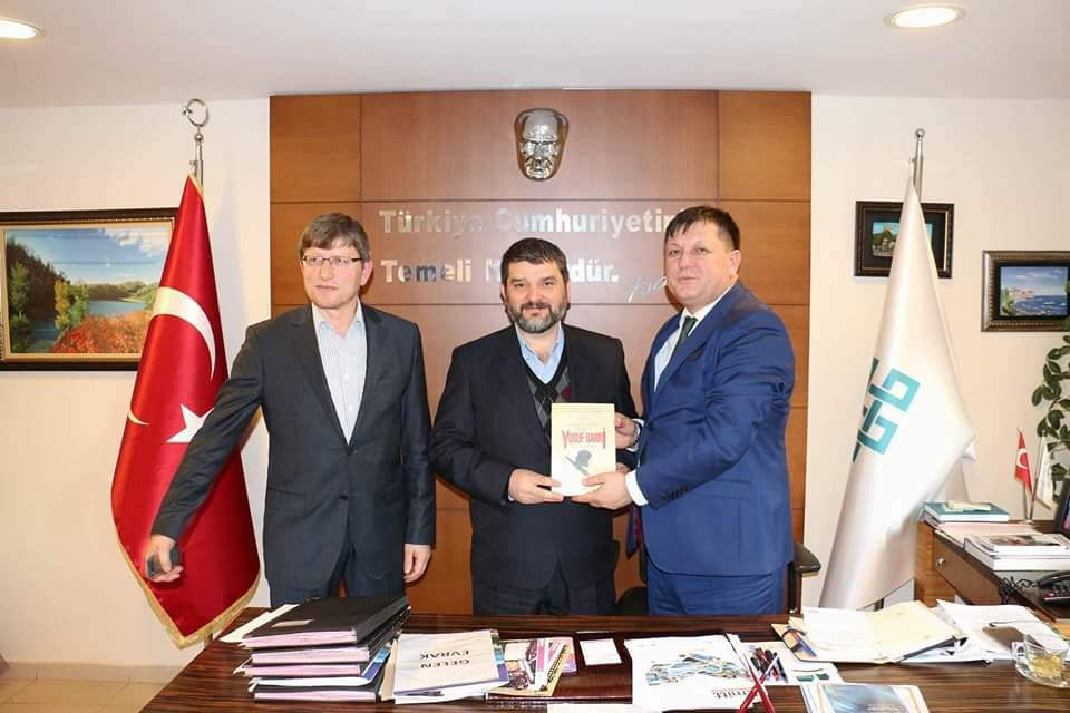 Ordu İl Kültür ve Turizm Müdürü Uğur Toparlak'ı Ziyaret Ettik