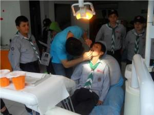 İzciler-Diş-Sağlığı-Kontrolü