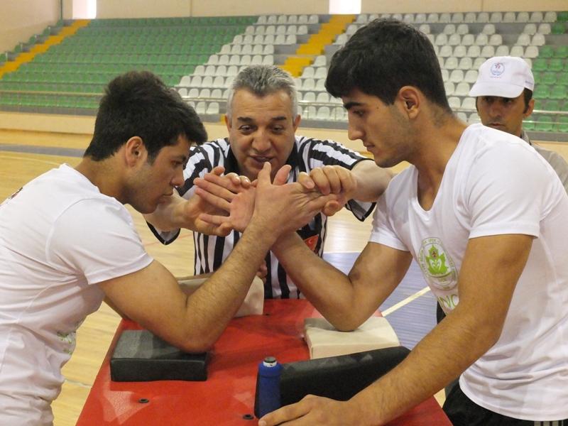 Liselerarası Bilek Güreşi Turnuvası