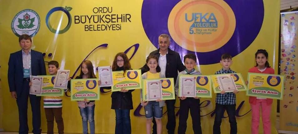 UfkaYolculuk 5 (Ünye, Akkuş,İkizce, Çaybaşı) Ödülleri Sahiplerini Buldu